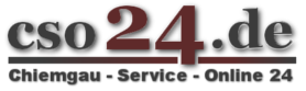 Chiemgau Service Online 24 Logo
